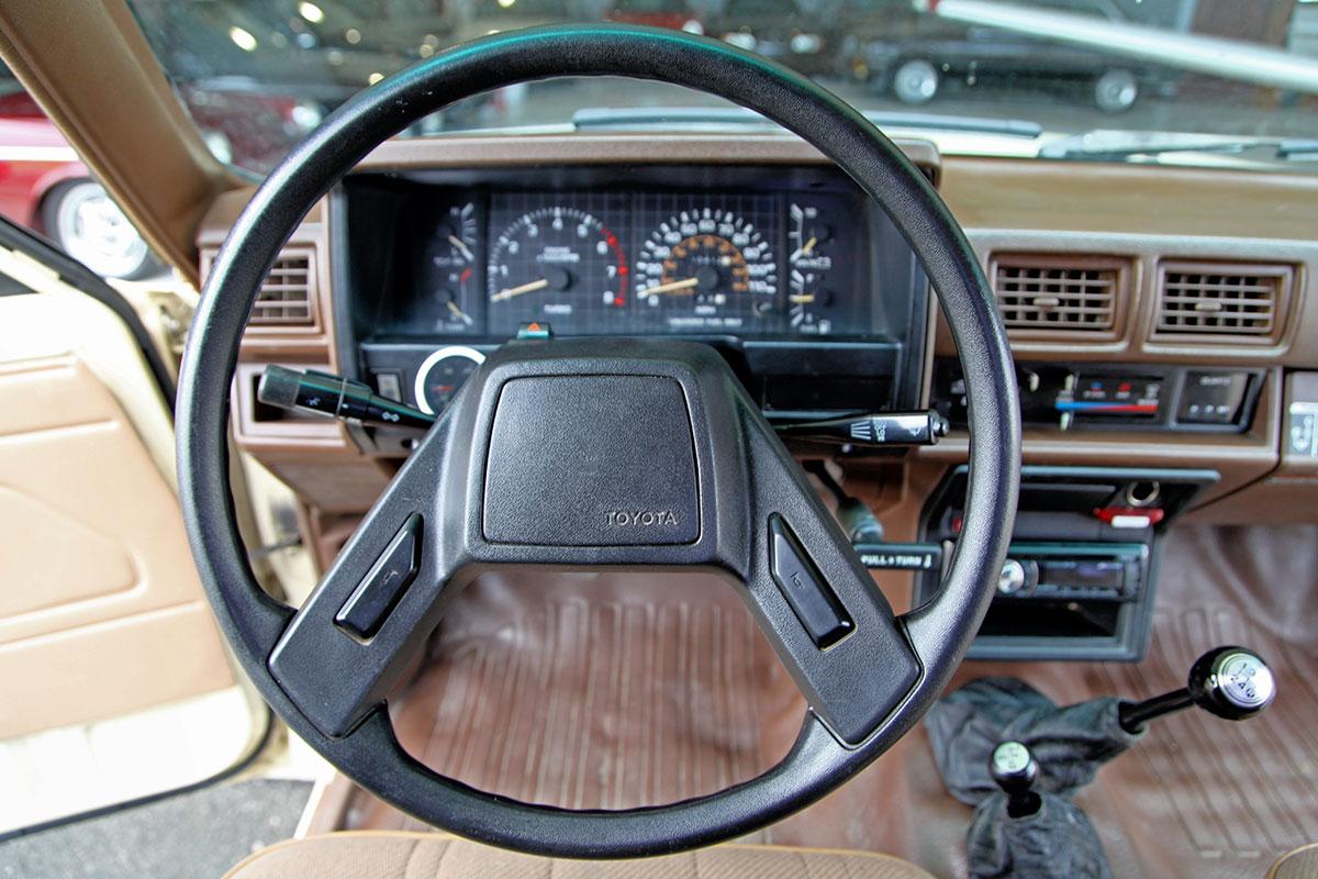1986 toyota turbocharged 4x4 pickup glen shelly auto - 1993 toyota pickup interior parts ...